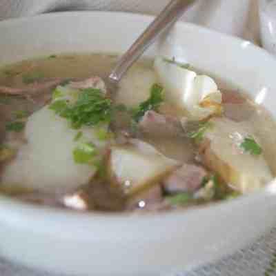Shurpa – Middle Eastern Lamb Soup