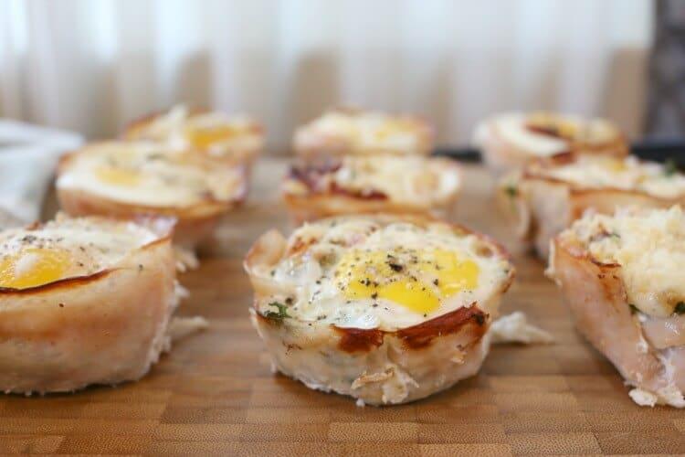 Breakfast Kale Egg Cups