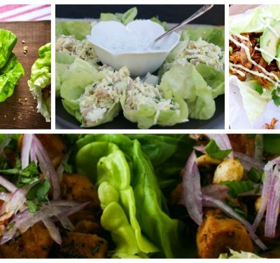 25 Delicious Lettuce Wraps and Other Fillings