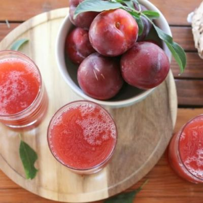 Plum Nectar Drink