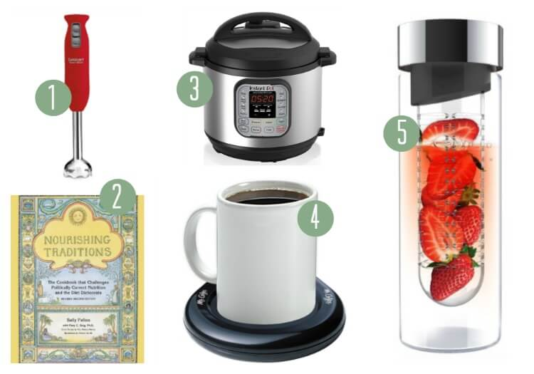 11 Essential Gifts for the NEW Real Foodie in Your Life - A real food gift guide for any holiday.