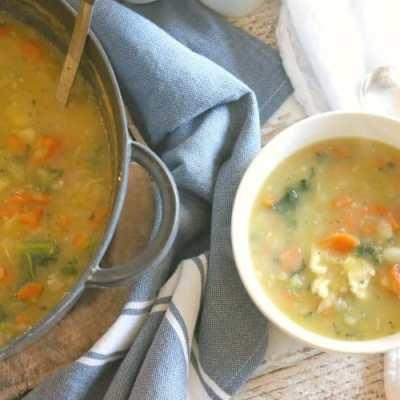 Nourishing Pastured Chicken Stew