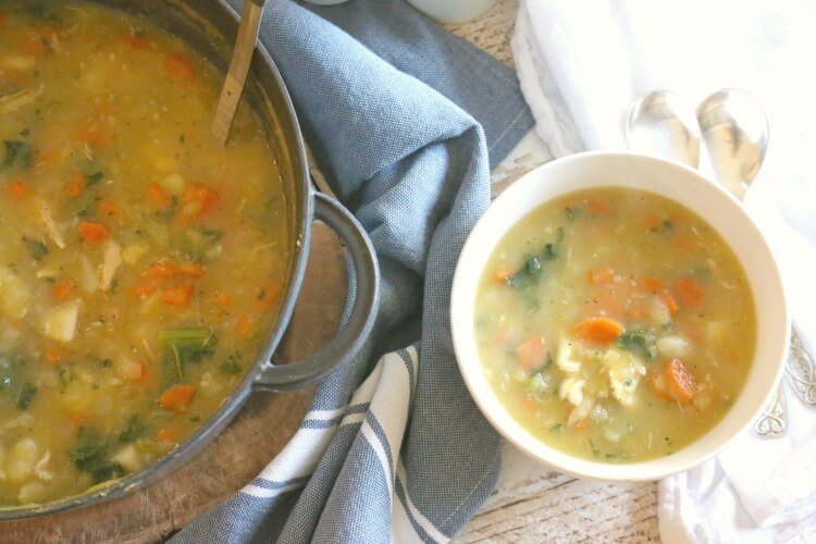 Nourishing Pastured Chicken Stew