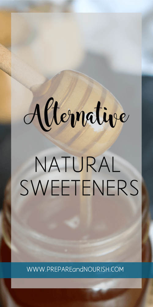 Alternative Natural Sweeteners - Ditch the refined sugars and go for the mineral-rich sweeteners. Find out what they are!