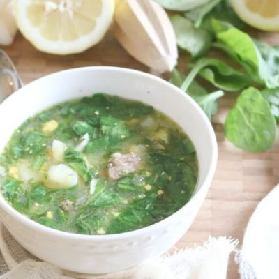 Sorrel and Potato Soup