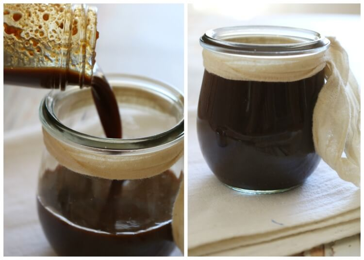 Soy-Free Worcestershire Sauce - Incredibly flavorful condiment is recreated with real food ingredients and paleo friendly. Use this Soy-Free Worcestershire Sauce in your favorite recipes or simply drizzle on top of steak.