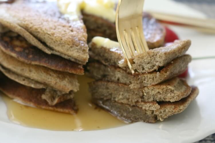 Gluten Free Sourdough Pancakes