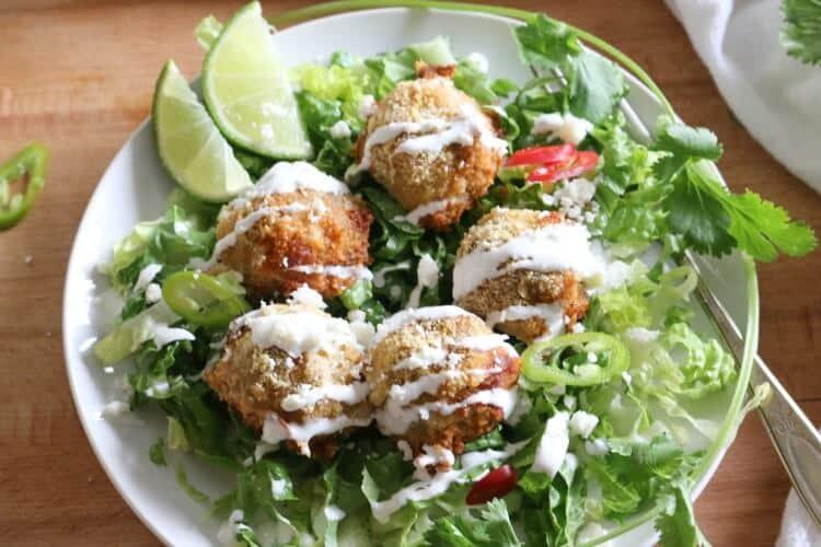 Turkey Fajita Meatballs