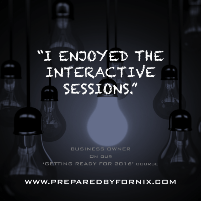 I enjoyed the interactive sessions