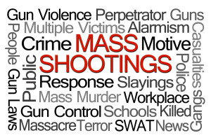 Mass Shootings Word Cloud