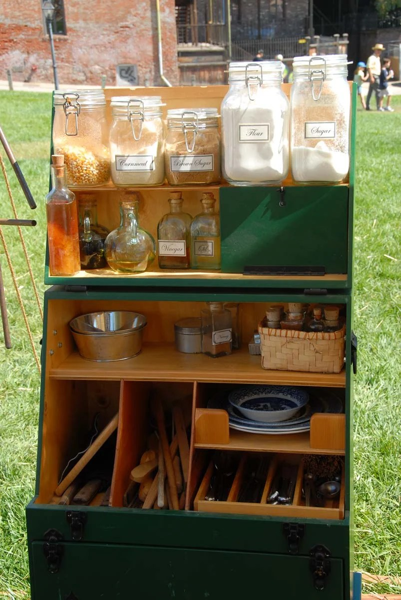 Camp Kitchens Used By The Pioneers Are Still Practical