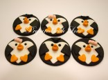 Flat Penguins Toppers