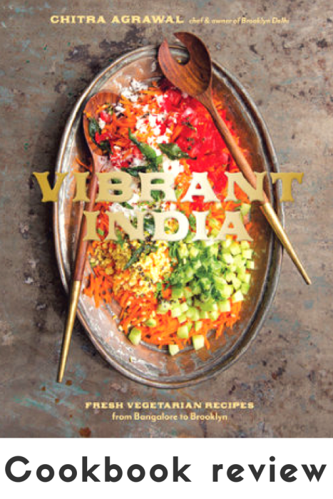 Review of Vibrant India cookbook