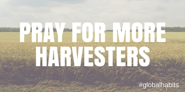 Pray for Harvesters