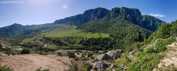 Road to Khinalug, Azerbaijan