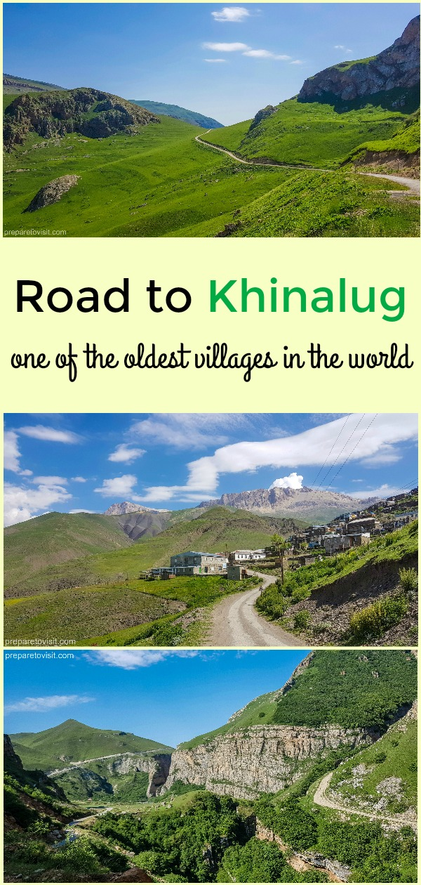 Road to Khinalug