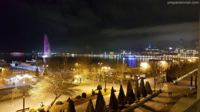 Baku City Boulevard (Bulvar) - National Park