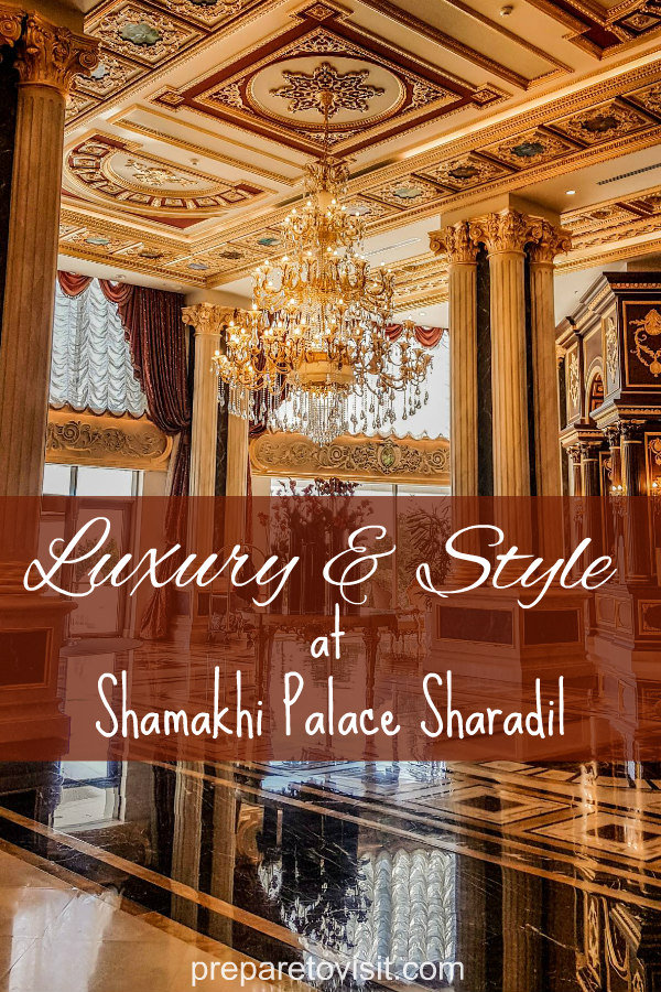Staying at Shamakhi Palace Sharadil Mountain Resort, Azerbaijan, and sharing my thoughts and excitement.
