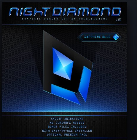 night diamond cursor
