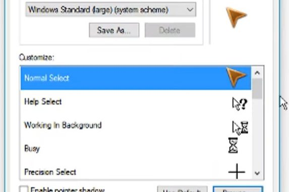 How to Change Cursor