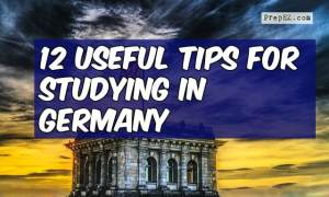 12 Useful Tips for Studying in Germany