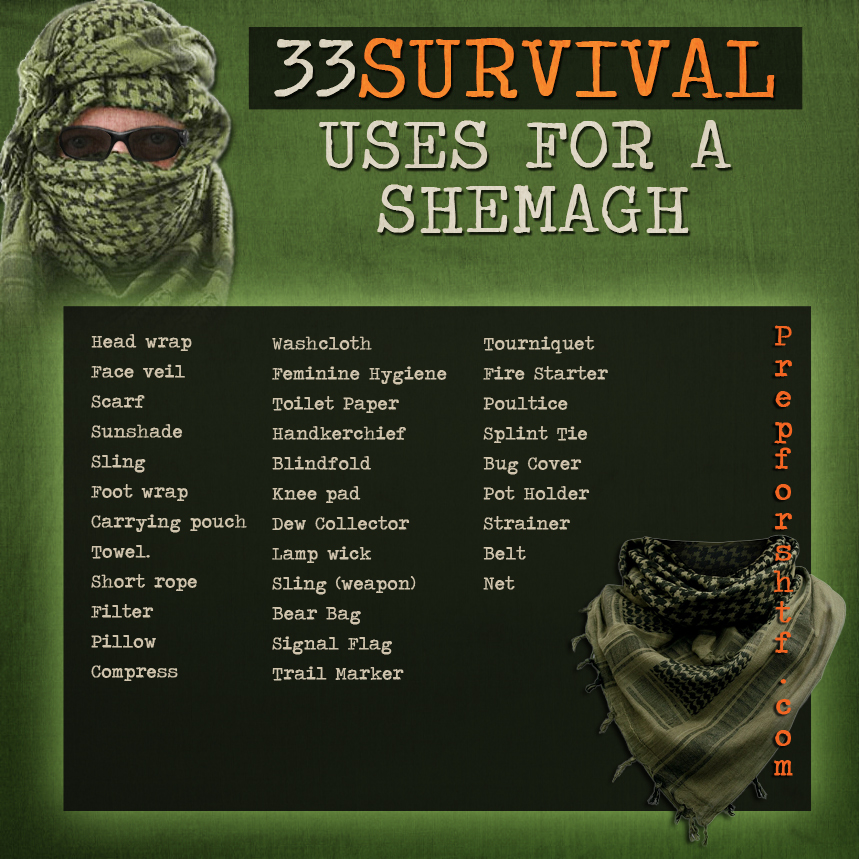 33 Uses for the Shemagh