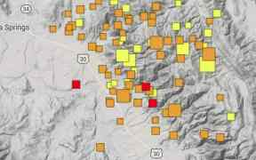 idaho earthquake swarm