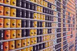 prepper food storage