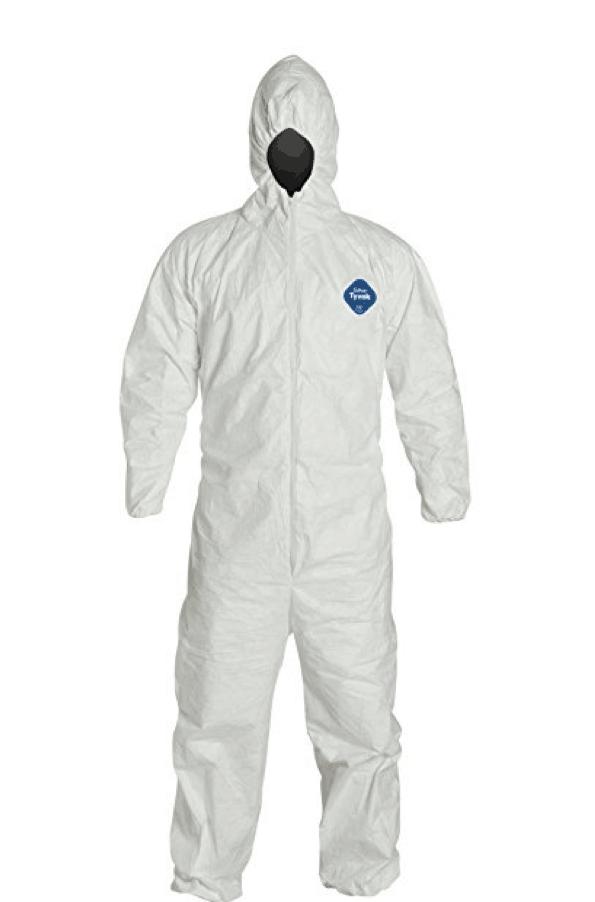 pandemic tyvec suit