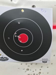 sig romeo 5 accuracy 50 yards