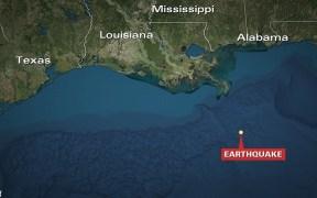 earthquake gulf mexico