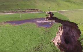 sinkhole new zealand