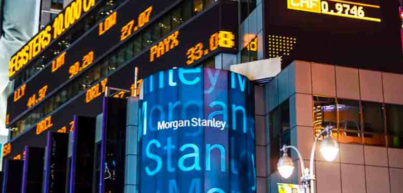 Morgan Stanley Predicts Stock Market Sell-Off Within Next Few Months