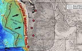 portland earthquake prediction