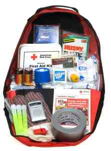 red cross preparedness kit
