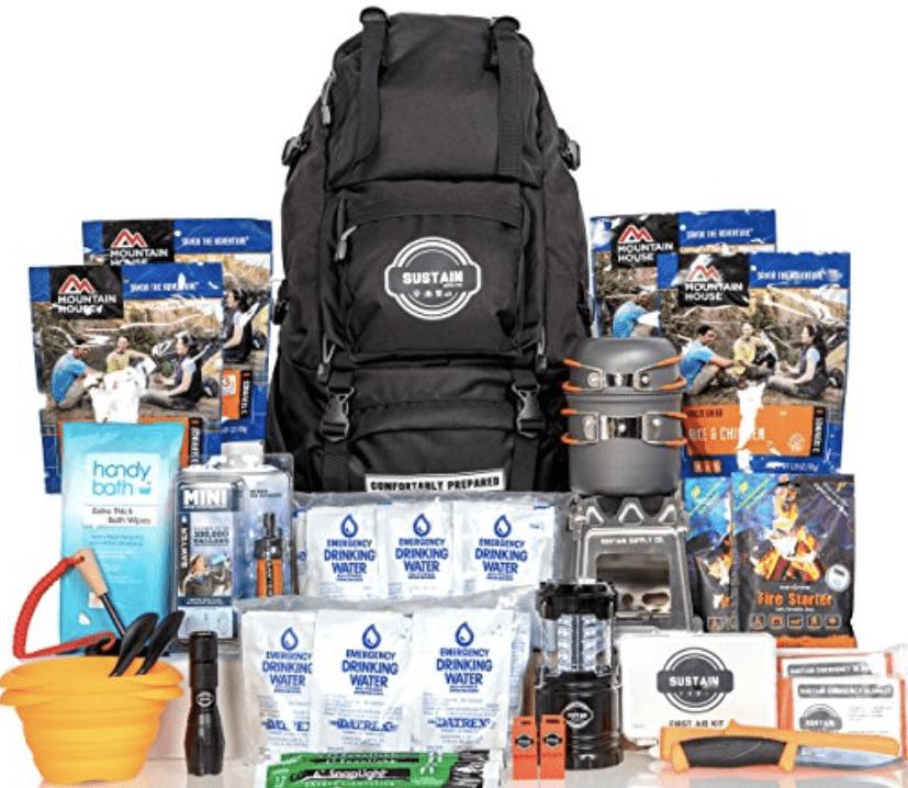 sustain supply premium emergency survival bag