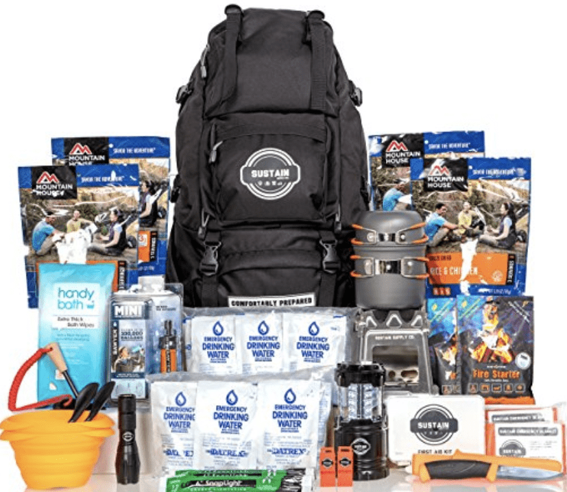 sustain supply premium emergency survival bag