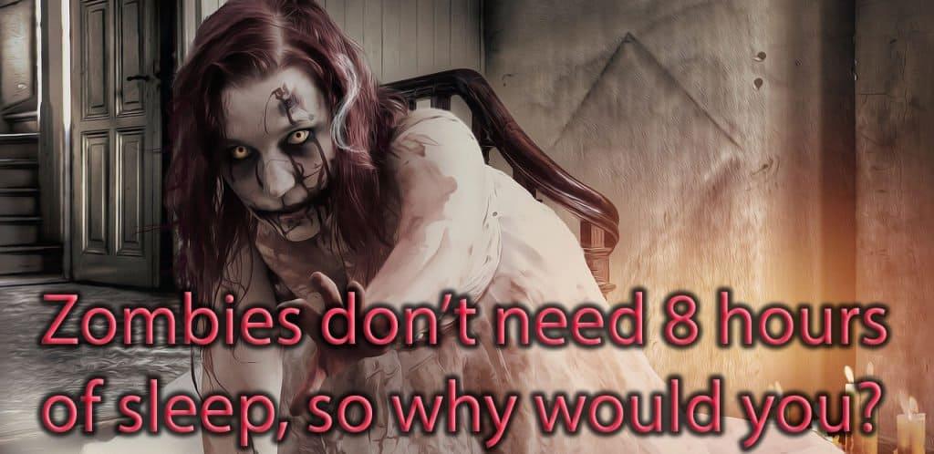 zombies sleep