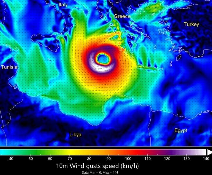 cyclone greece prediction