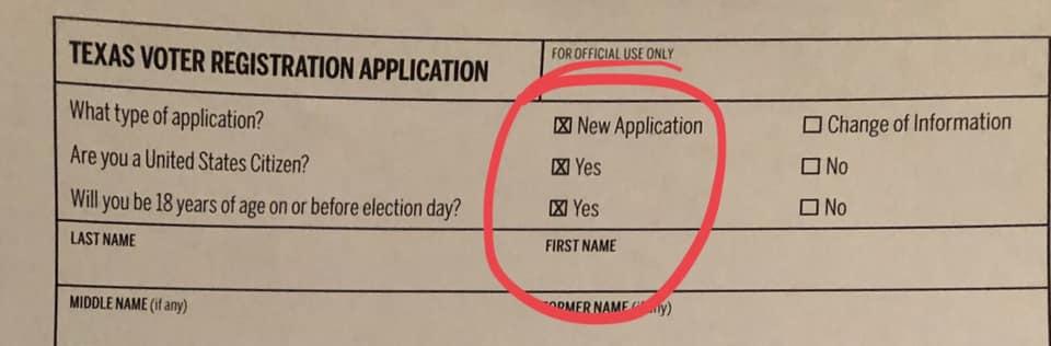 Texas voter fraud