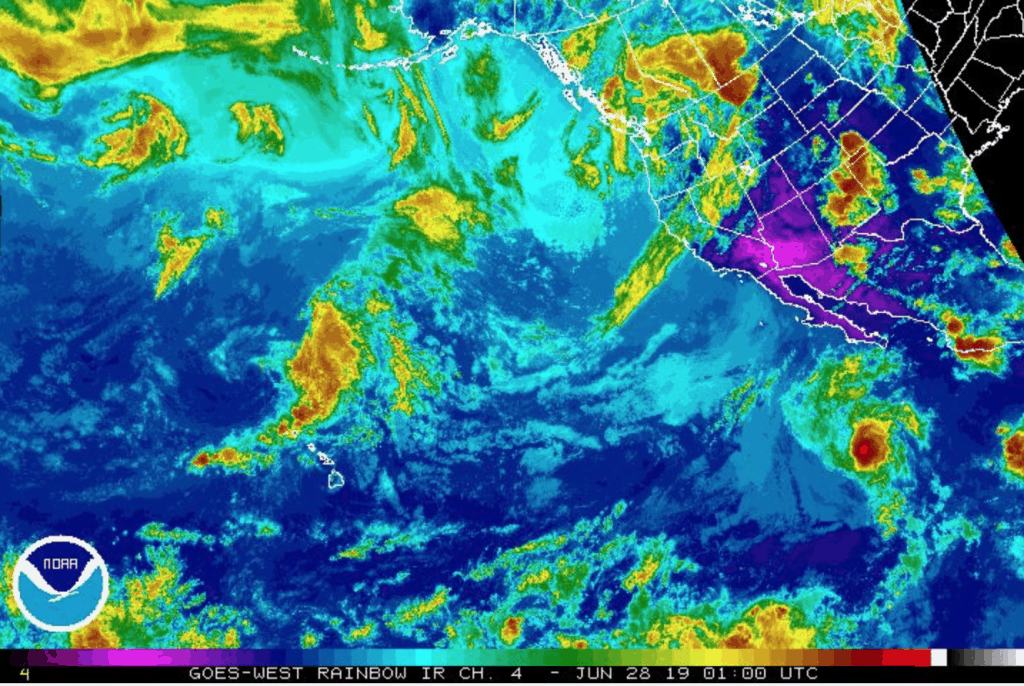 hurricane alvin images