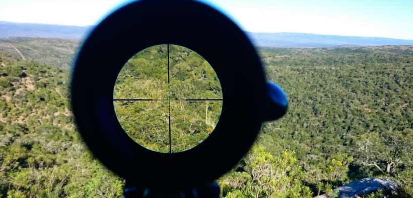 rifle scope Obsidian 4