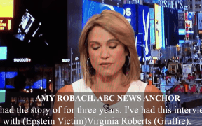 amy robach epstein video