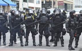 government buys riot gear