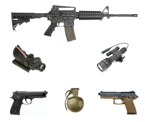 guns in i am legend