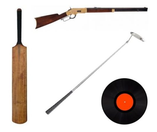 weapons in shaun of the dead