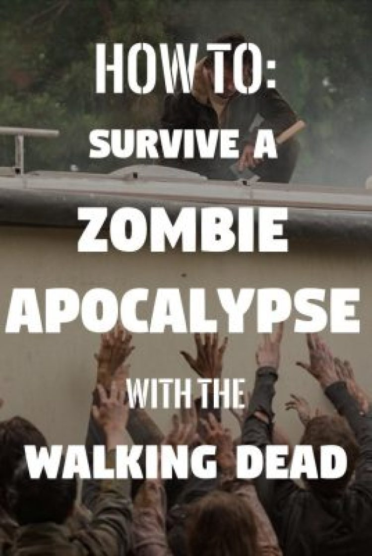 Bug out plans, survival caches, off-grid power, hunting and food prepping? It's all in a zombie apocalypse guide from our favorite TV show The Walking Dead.