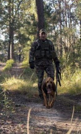 Tracker dogs used in SERE training
