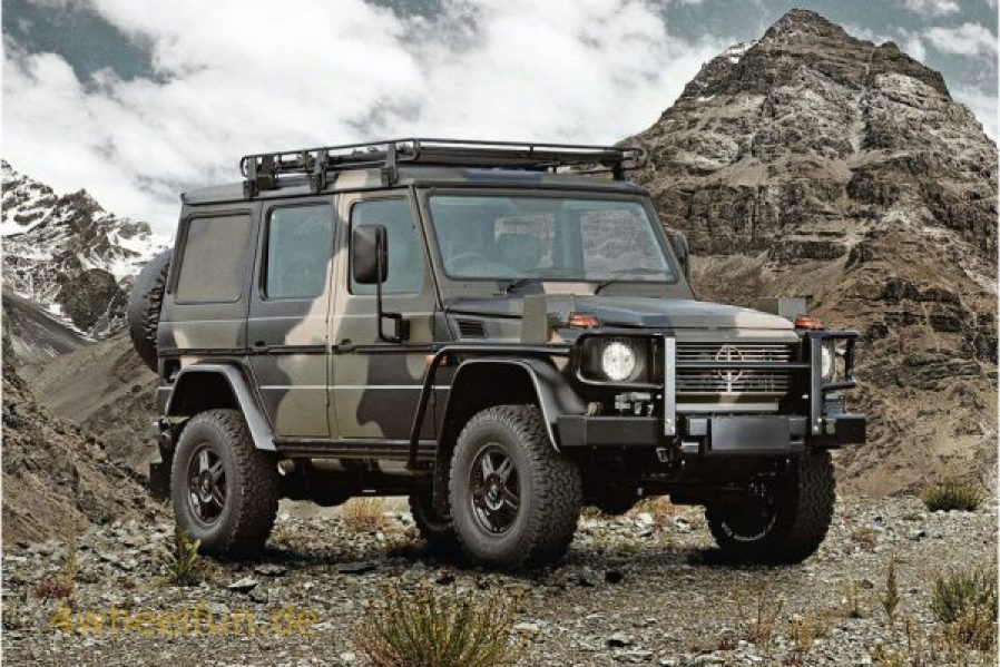 bug out vehicle g-wagen