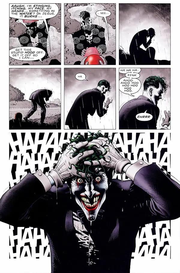 Les 10 meilleures BD de Superhéros de tous les temps The Killing Joke de Alan Moore